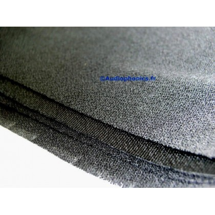 Acoustic fabric Speakers Black 150x75cm
