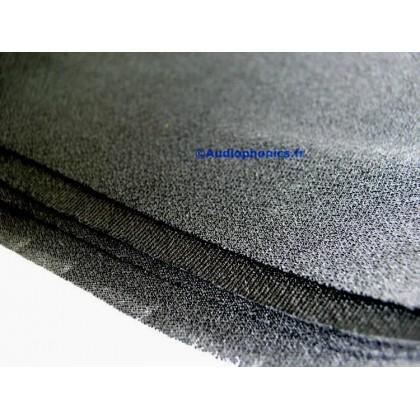 Tissu acoustique haut-parleur noir 150x75cm