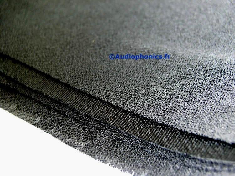 Acoustic Speaker Fabric 150x75cm Black