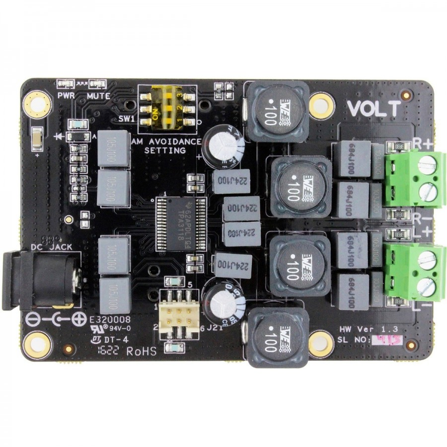 Allo Volt Amp Stereo Amplifier Classe Class D Tpa3118d2 2x25w 8 Circuit Tpa3116d2 Subwoofer Tpa 3118d2