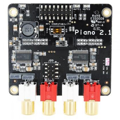 ALLO PIANO 2.1 DAC 2x PCM5142 32Bit/384kHz