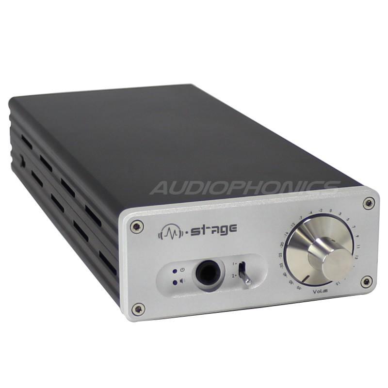 MATRIX M-STAGE HPA-2 Amplifier Headphone / Preamplifier Class A Silver