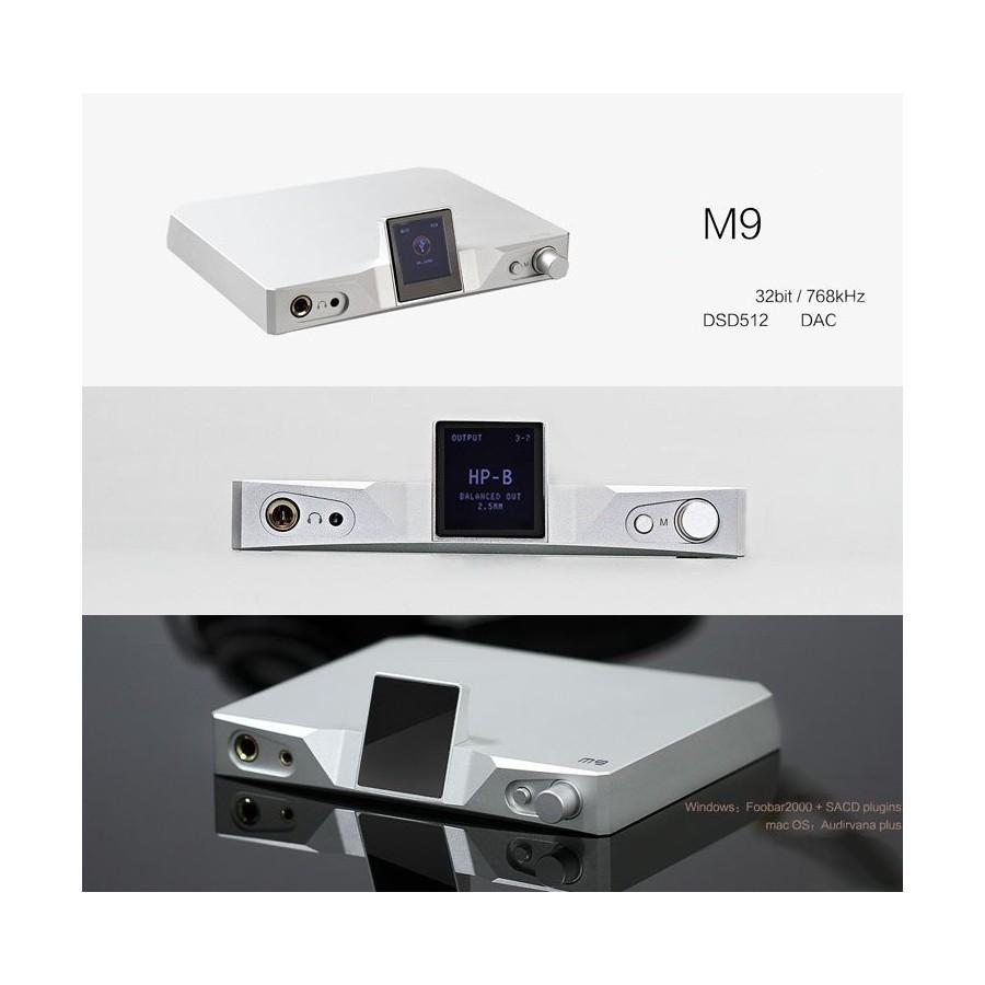 SMSL M9 DAC USB AK4490 x2 32bit 768kHz DSD 512 XMOS Xcore 200