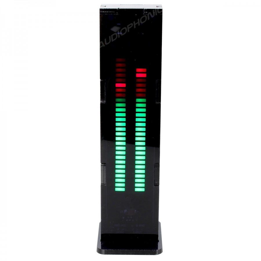 Led Bar Graph Vu Meter Dual Channel Level Indicator Display An Easy To Use Bargraph Monitor Audio Levels Circuit