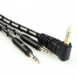 HIFIMAN Câble Hybride OFC Jack 2.5mm pour Casque HIFIMAN HE-400S 1.5m
