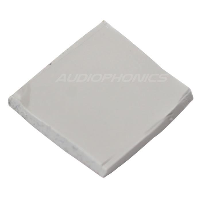 Pad thermique silicone 15x15x2mm (Unité)