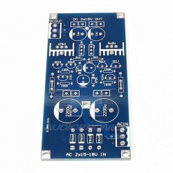 DIY Kit Power supply module AC 2X 9-17V DC 2X 6-18V