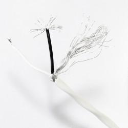 Câble de Modulation Cuivre Plaqué Argent Blindé Haute Pureté PTFE Ø3.35mm