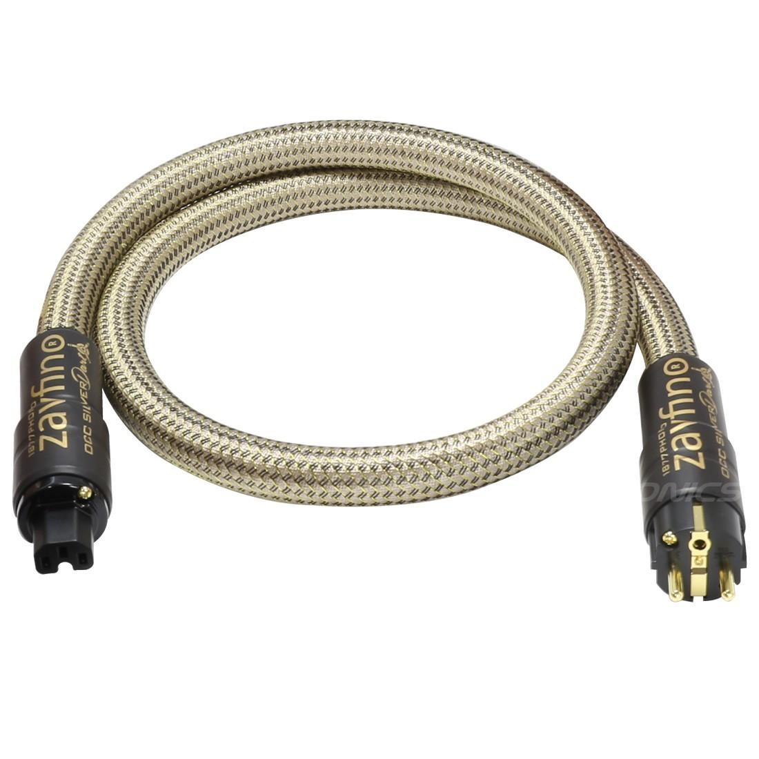 1877PHONO OCC Silver Dart Câble secteur blindé 3x5.26mm² 2.5m