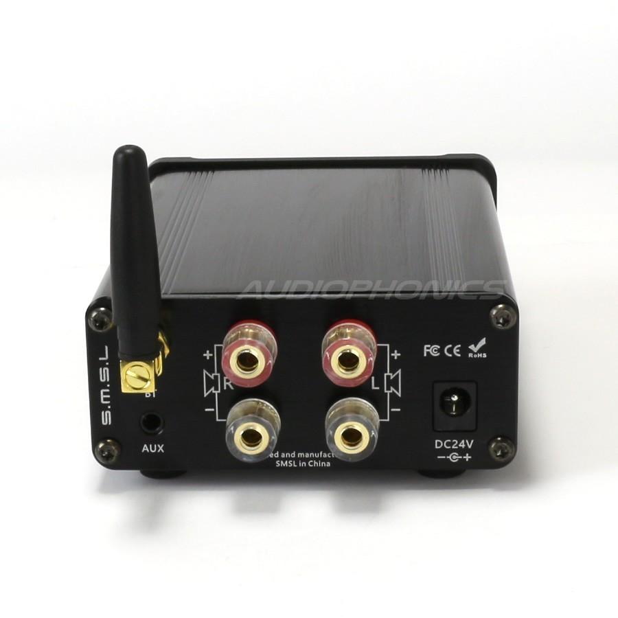 Smsl Sa 36a Plus Digital Amplifier Tpa3118 Bluetooth 41 2x 30w 8 Stereo Power Based Tda 1521 Ohm