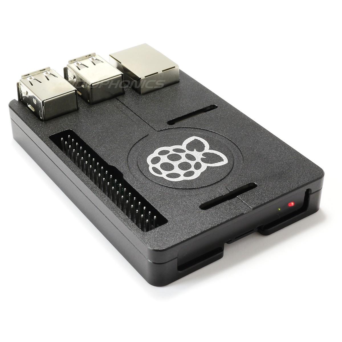 KIT Boitier Ultra Plat Aluminium pour Raspberry Pi 3 / Pi 2