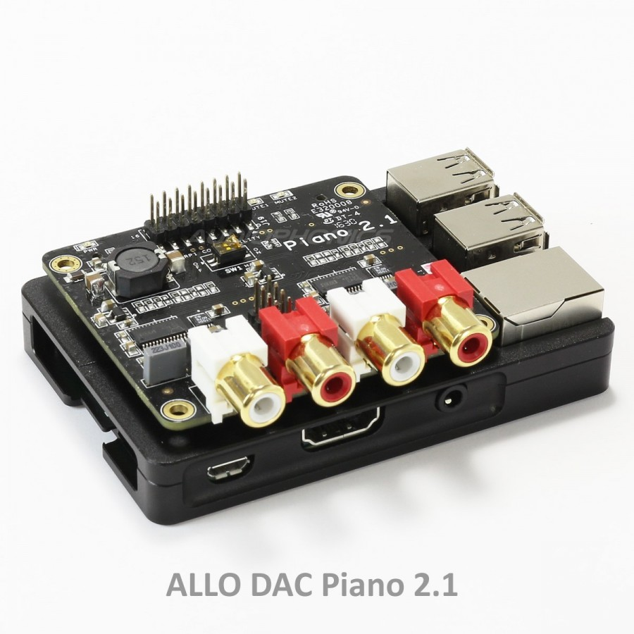 Aluminium Ultra Thin Case KIT for Raspberry Pi 3 / Pi 2