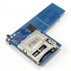 Doubleur de carte Micro SD pour Raspberry Pi3 / Pi2 et lecteurs compatibles