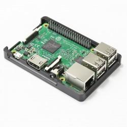 KIT Boitier Aluminium pour Raspberry 2/3 Ecran 2.2 pouces / boutons programmable