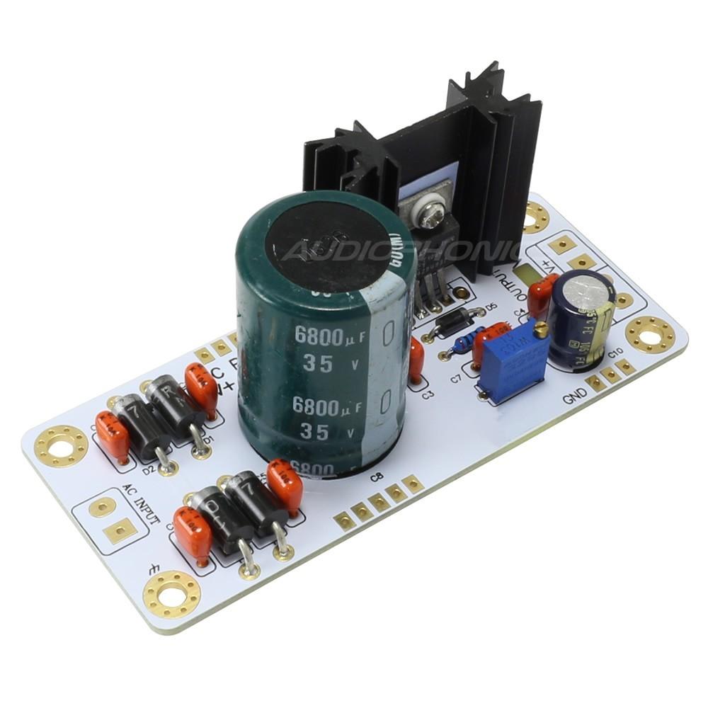 Regulated Power supply Module DC with heat slug LT1084 1.25V to 20V 2A