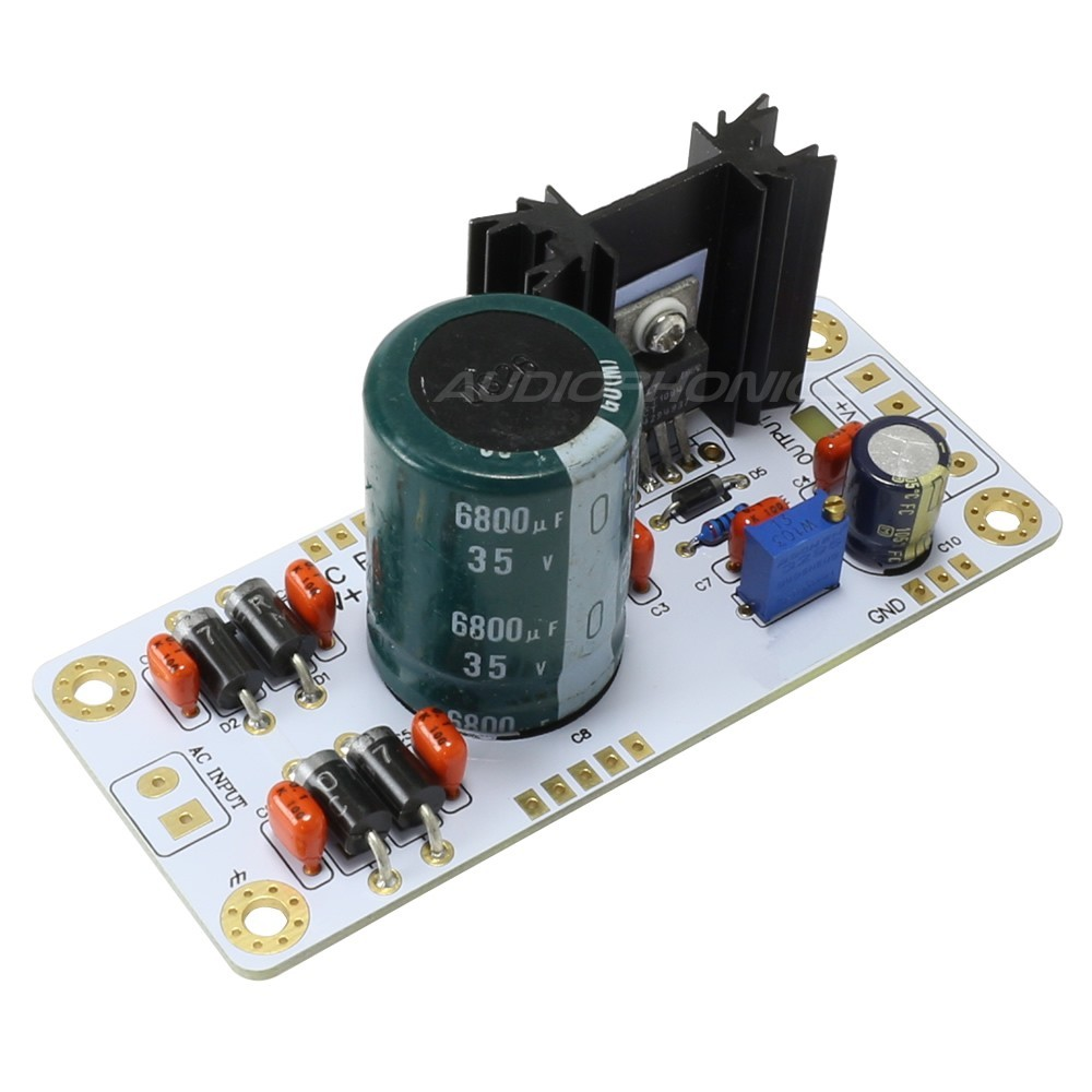 Regulated Power supply Module DC with heat slug LT1084 5V to 20V 2A