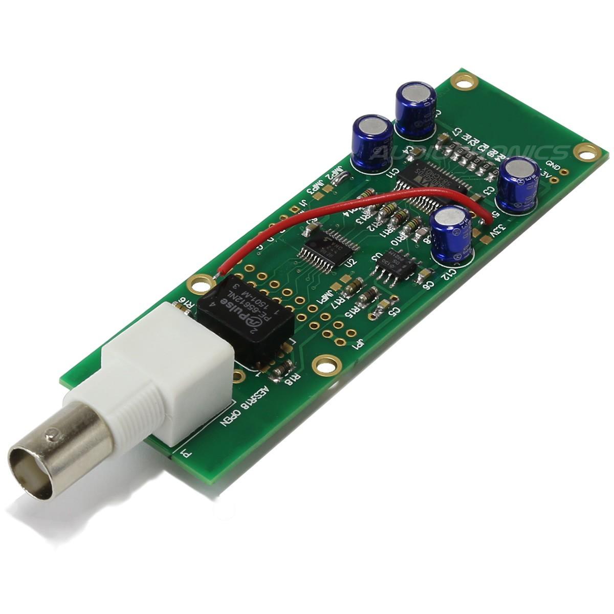 Digital Interface I2S to SPDIF BNC 75 Ohm for Amanero WM8805 V7