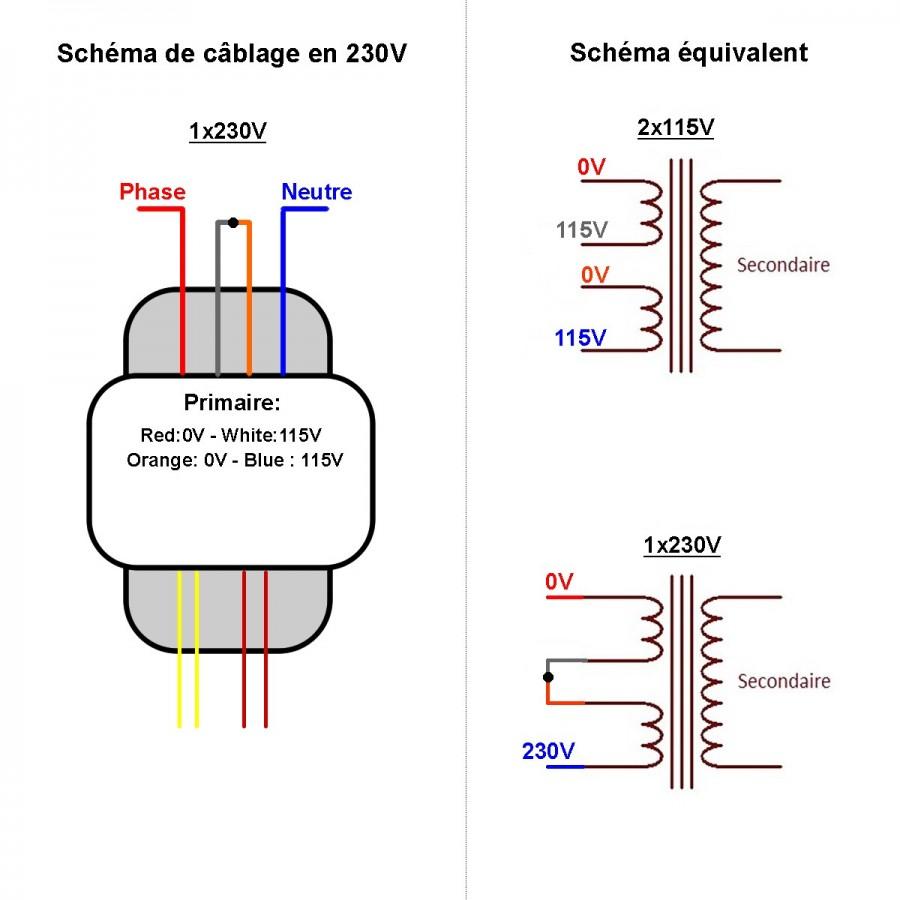 r core transformer 30va 24 0 24v audiophonics Transformer Primary Secondary