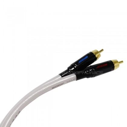 NEOTECH NEMOI-5220-1 Câble de Modulation OFC RCA Stéreo PTFE (La paire) 1m