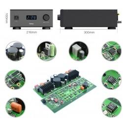 QULOOS QA690 Amplificateur Intégré FDA 24bit 192khz 2x100W / 8 Ohm