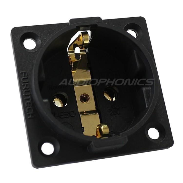 FURUTECH FI-E30 (G) Plated Gold Plated 24k Plug (Alpha)
