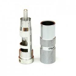 OYAIDE SLSC Connecteurs RCA Argent pur 4N Ø 9mm (Set x4)