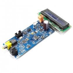 Module Sélecteur de Source Numérique AK4118 3x SPDIF I2S avec écran 3 entrées