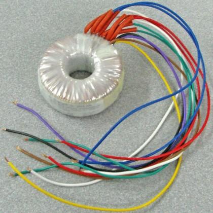 Transformateur torique 2x15V + 2x7V 45VA pour alim DCX