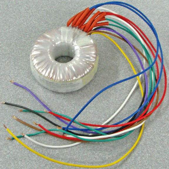 Transformer toroidal 2x15V + 2x7V 45VA for DCX power supply