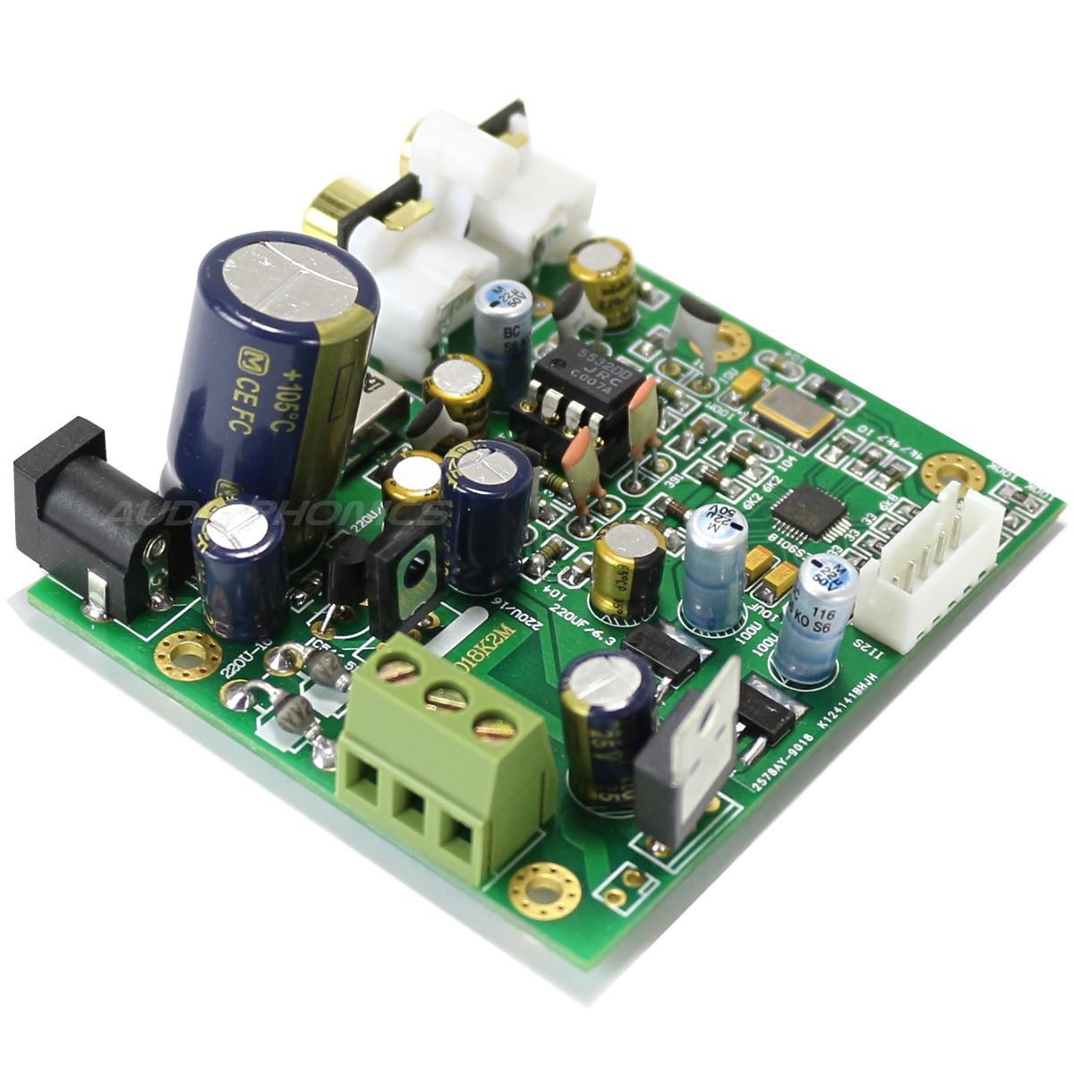 Module DAC ES9018K2M I2S 100MHZ Sortie analogique sur Support DIP 8