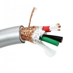 ELECAUDIO CS-361B Câble Secteur OCC PTFE 3x2.5mm² Ø 17mm