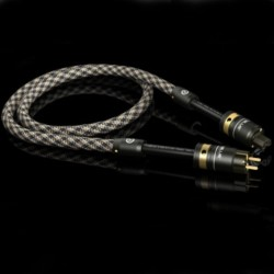 VIABLUE X-25 Silver Power cable 1m