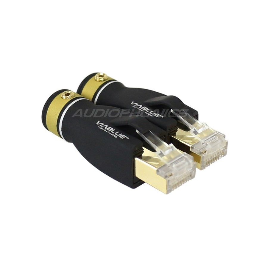 Wiring Rj45 Socket With Transformer Detailed Schematic Diagrams A Or B Viablue T6s Plug Cat6 Gold Plated 24k Pair Audiophonics Connection
