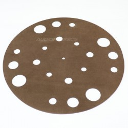 1877PHONO Retro Leather Cover plate / Absorbent support Leather for vinyl