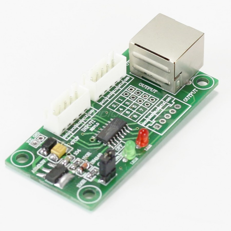 Digital Interface Selector I2s X2 To Rj45 Audiophonics Connector Wiring Diagram On Pc