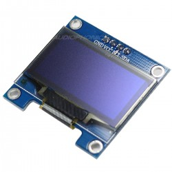 Ecran OLED 16x2 Blanc Multi interface SPI/8080/I2C