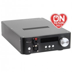 AUDIO-GD NFB-1AMP 2019 Discrete Headphone Amplifier / Preamplifier Class A Black