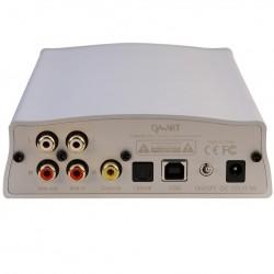 DAART Canary DAC USB XMOS DSD ES9018K2M 32 bit ampli casque classe A Blanc