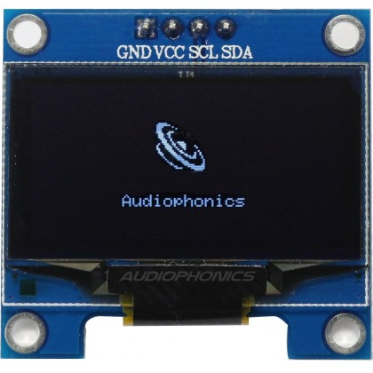 Ecran OLED 16x2 Blanc Multi interface SPI/8080/I2C