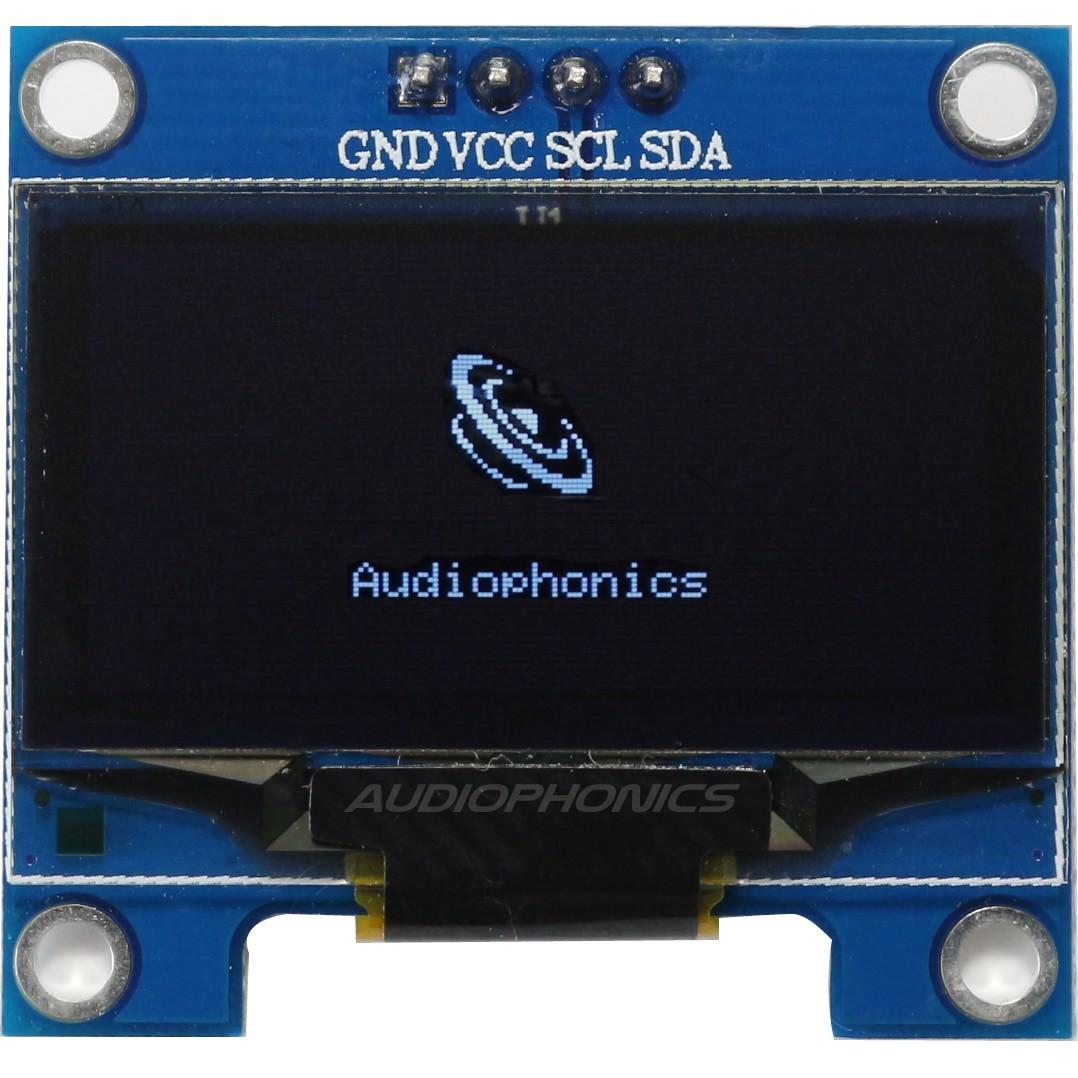 "Ecran OLED 1.3"" 128X64 SH1106 Blanc interface I2C"