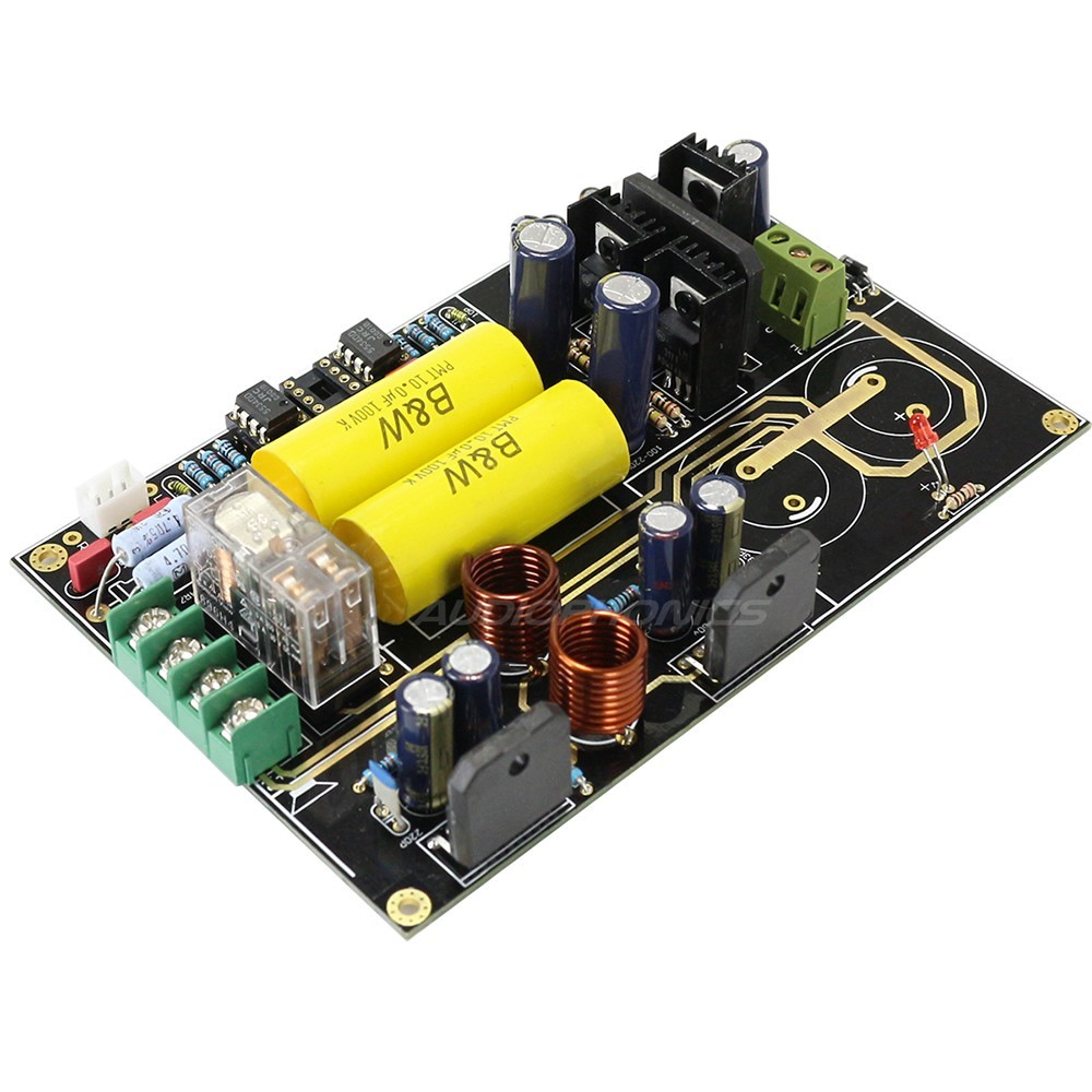 LM3886 Stereo Amplifier Board no capacitor 2x68W / 4 Ohm