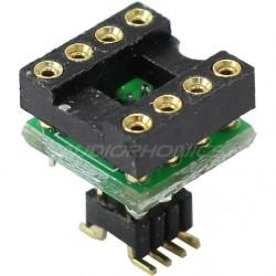 Adaptateur AOP DIP8 8 Pins sur Circuit CMS SOIC8 à Souder (Unité)