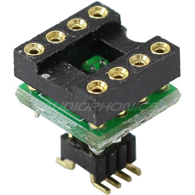 AOP DIP8 soldering 8pin on SOIC-8 Printed Circuit Board (unit)