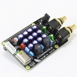 AUDIOPHONICS I-TDA1387 TCXO DAC Raspberry Pi A+ B+ 2.0 /3.0 I2S