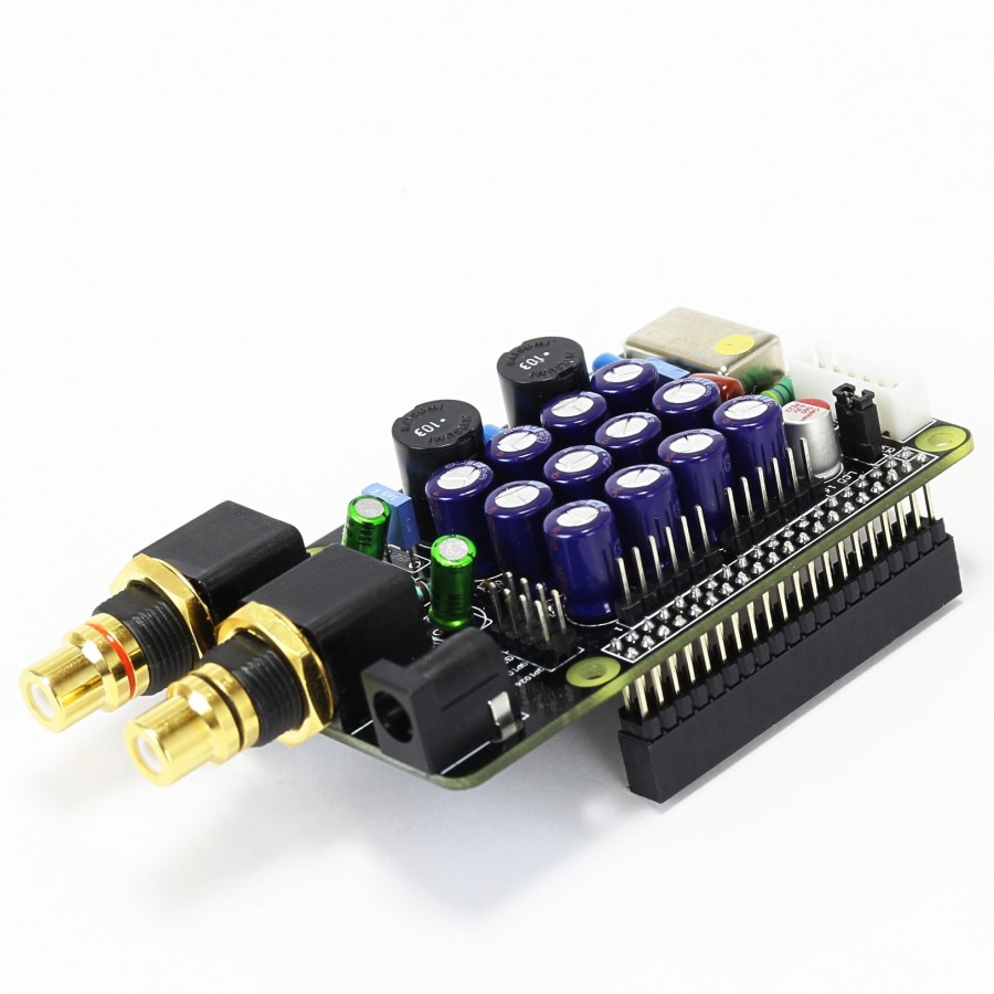 Audiophonics I Tda1387 Tcxo Dac Raspberry Pi 3 A B 2 I2s Regulator Using L200 Electronic Circuits And Diagramelectronics Linux Compatibility