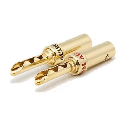 W&M Audio BS-512 Fiches Bananes BFA (la paire) Ø 5.0mm