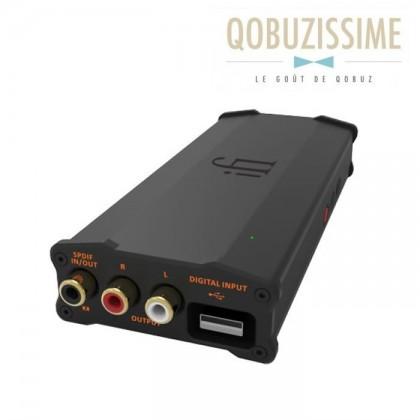 iFi Audio micro iDSD Black Label DAC Amplificateur Casque DSD XMOS 32bit/384kHz