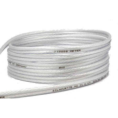 MEDIA-SUN SILHOUETTE MS4S Speaker cable Silver/Copper 2x4.0mm²
