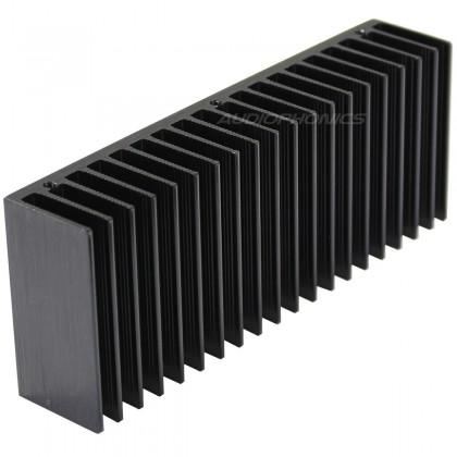 Heat Sink Aluminium Black 160x32x62mm