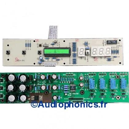 LITE V3310 4ch - Contrôleur de volume 4 voies ou 2 voies XLR